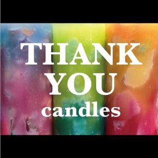 Thank You candles�@.jpg